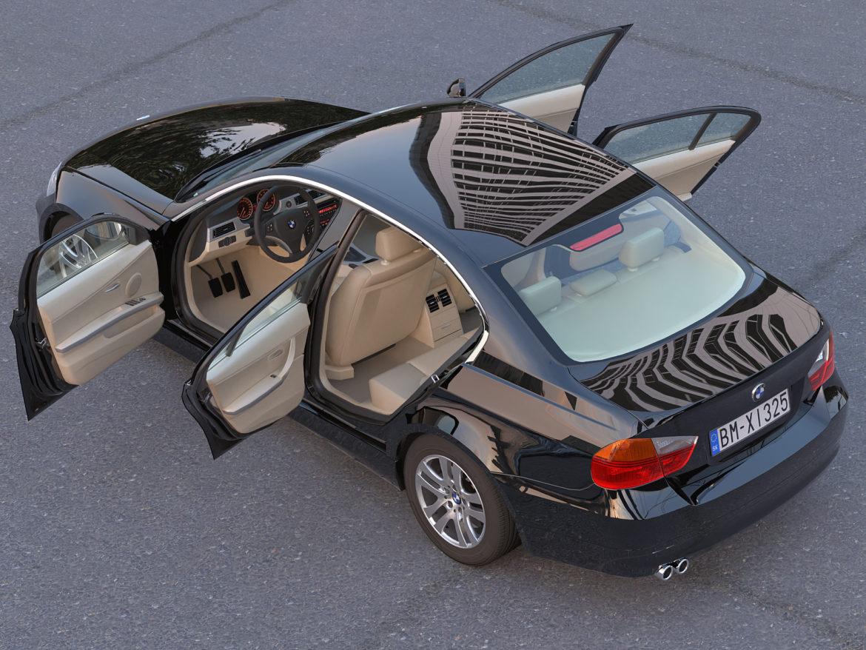 e90 3-series sedan 2006 3d model 3ds max fbx c4d dae obj 315691