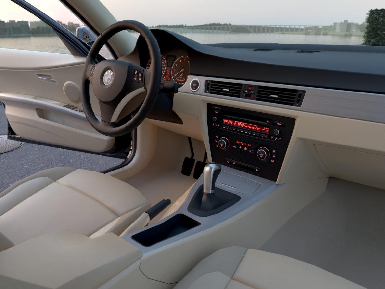 e90 3-series sedan 2006 3d model 3ds max fbx c4d dae obj 315694