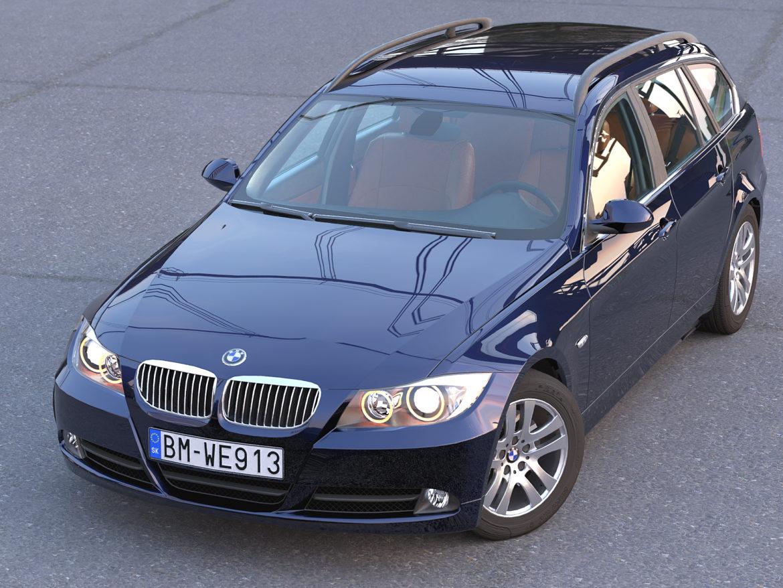 e91 3-series touring 2006 3d model 3ds max fbx c4d dae obj 315700