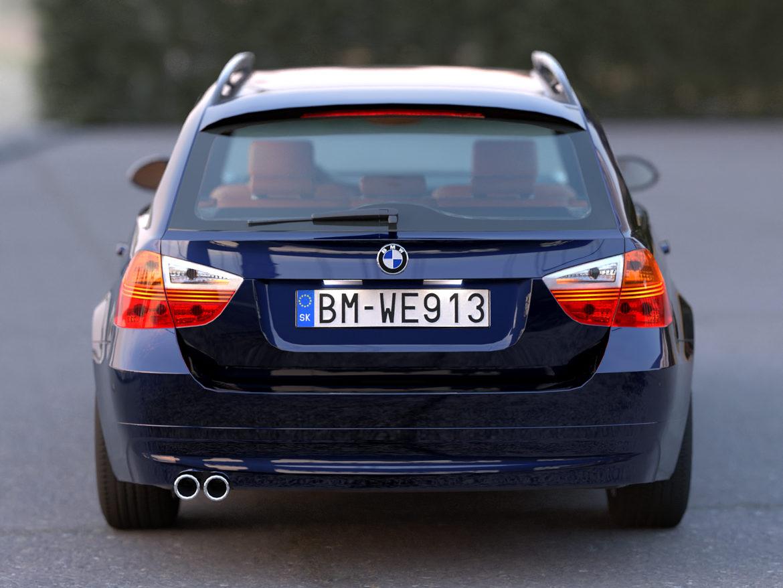e91 3-series touring 2006 3d model 3ds max fbx c4d dae obj 315704