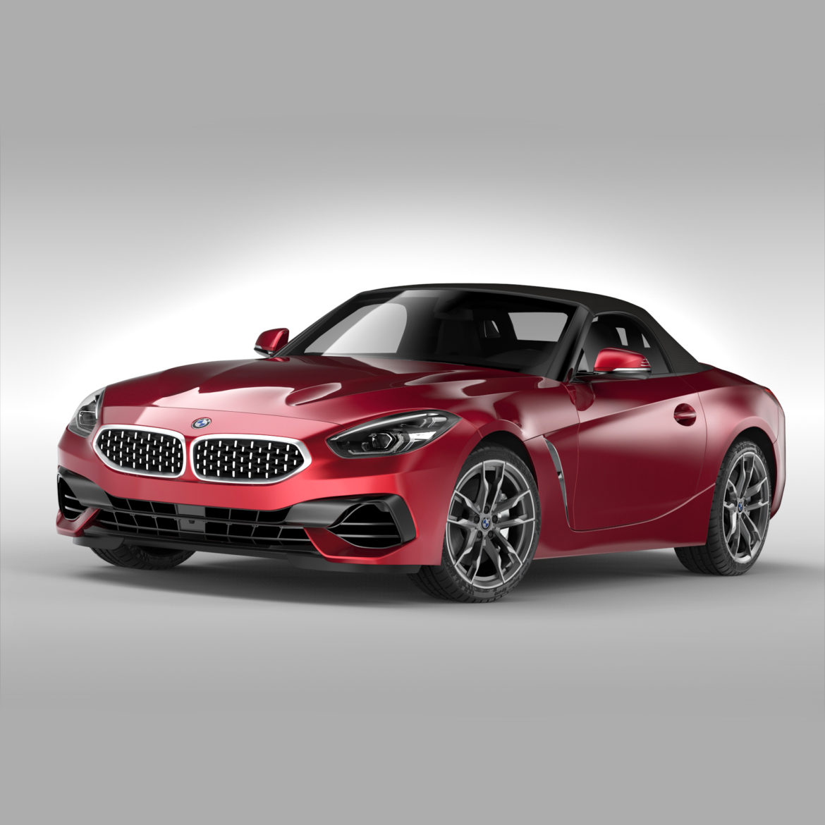 bmw z4 (2019) 3d model 3ds max fbx blend c4d ma mb skp obj 317024