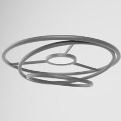 tavan lampası 3d model fbx 317544