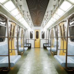 metro səhnə 3d model lwo obj 317673