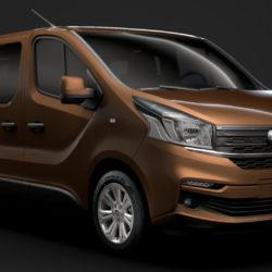fiat talento minibus 2019 3d model 3ds fbx c4d lwo ma mb hrc xsi obj 317738