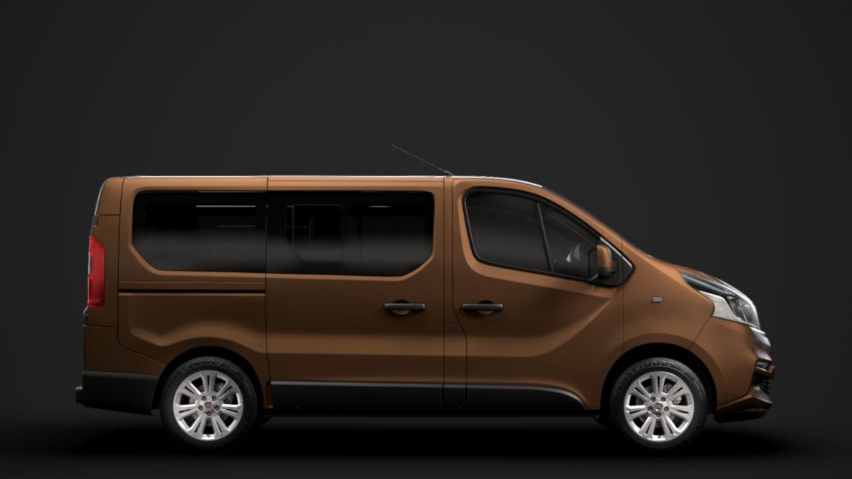fiat talento minibus 2019 3d model 3ds fbx c4d lwo ma mb hrc xsi obj 317739