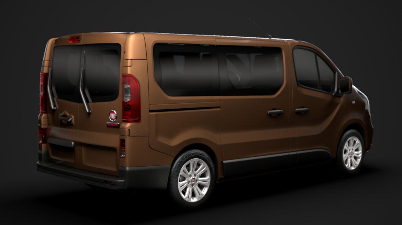 fiat talento minibus 2019 3d model 3ds fbx c4d lwo ma mb hrc xsi obj 317740