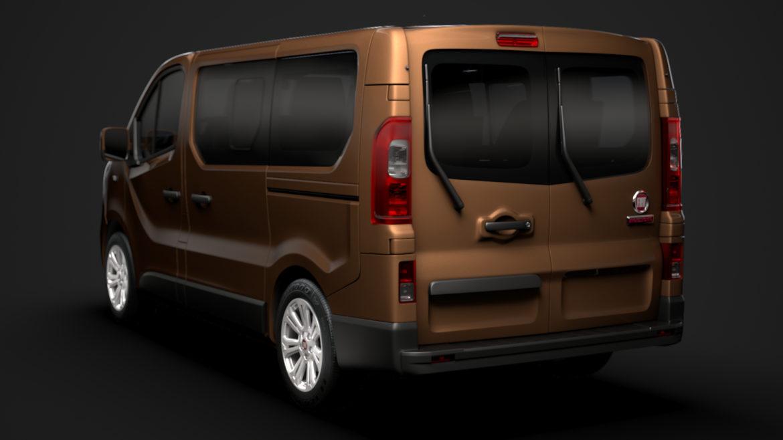 fiat talento minibus 2019 3d model 3ds fbx c4d lwo ma mb hrc xsi obj 317742