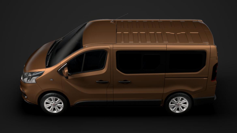 fiat talento minibus 2019 3d model 3ds fbx c4d lwo ma mb hrc xsi obj 317743