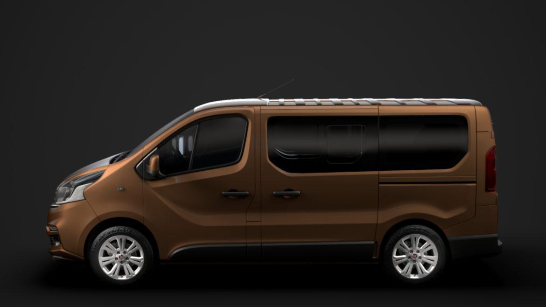 fiat talento minibus 2019 3d model 3ds fbx c4d lwo ma mb hrc xsi obj 317744