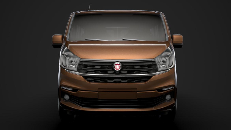 fiat talento minibus 2019 3d model 3ds fbx c4d lwo ma mb hrc xsi obj 317748