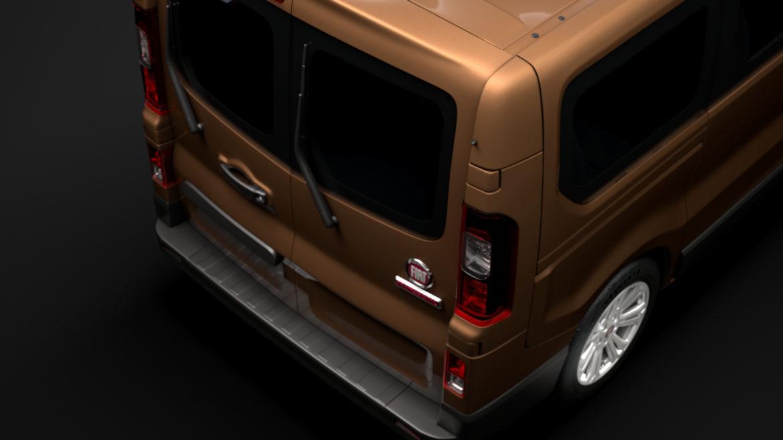 fiat talento minibus 2019 3d model 3ds fbx c4d lwo ma mb hrc xsi obj 317749