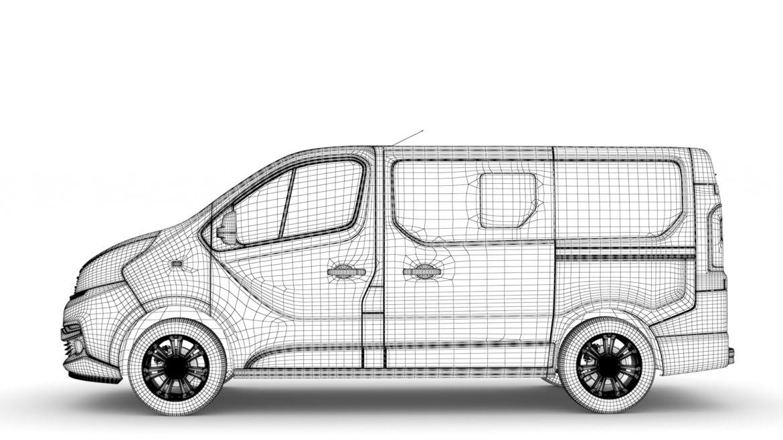 fiat talento minibus 2019 3d model 3ds fbx c4d lwo ma mb hrc xsi obj 317758
