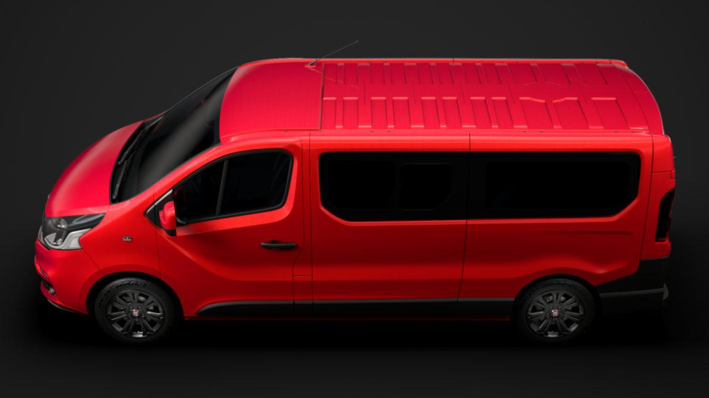 fiat talento minibus lwb 2019 3d model 3ds fbx c4d lwo ma mb hrc xsi obj 317776