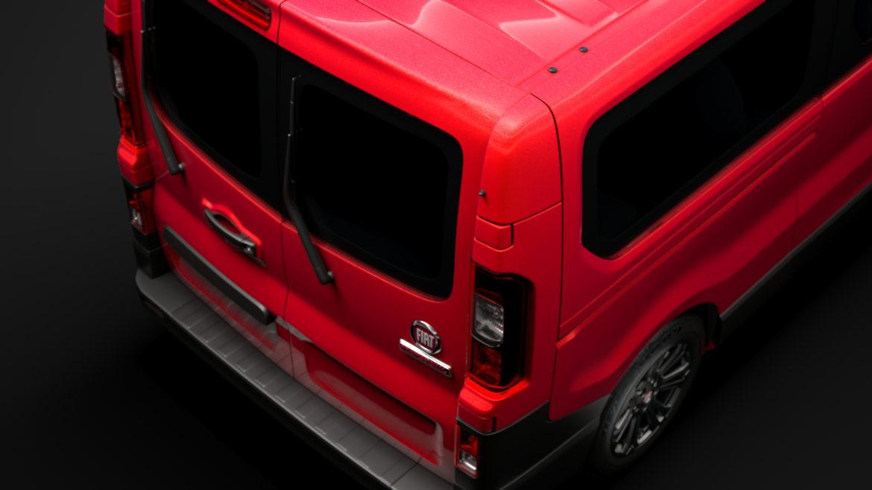 fiat talento minibus lwb 2019 3d model 3ds fbx c4d lwo ma mb hrc xsi obj 317782