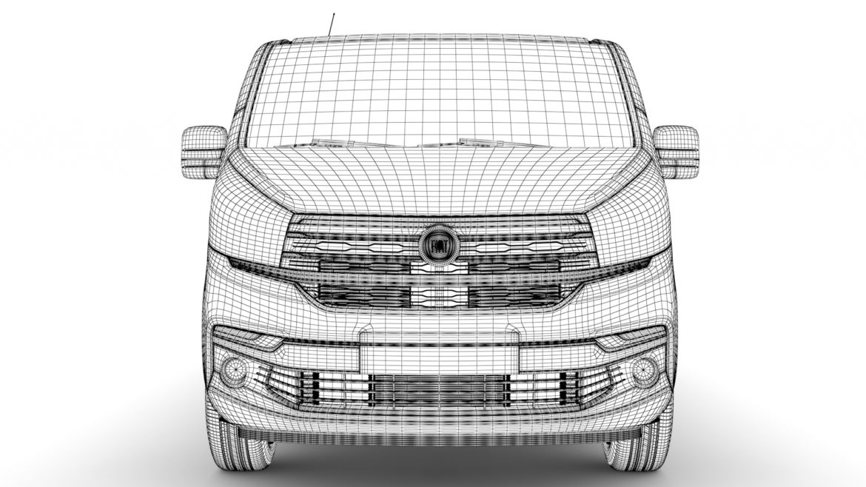 fiat talento minibus lwb 2019 3d model 3ds fbx c4d lwo ma mb hrc xsi obj 317787