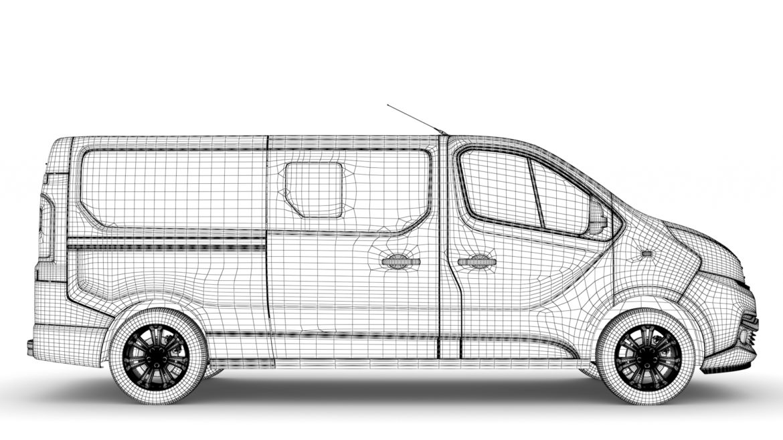 fiat talento minibus lwb 2019 3d model 3ds fbx c4d lwo ma mb hrc xsi obj 317791