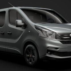 fiat talento minibus spaceclass 2019 3d model 3ds fbx c4d lwo ma mb hrc xsi obj 317797