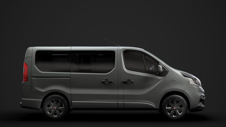 fiat talento minibus spaceclass 2019 3d model 3ds fbx c4d lwo ma mb hrc xsi obj 317798