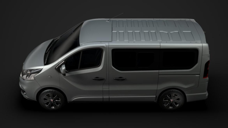 fiat talento minibus spaceclass 2019 3d model 3ds fbx c4d lwo ma mb hrc xsi obj 317802