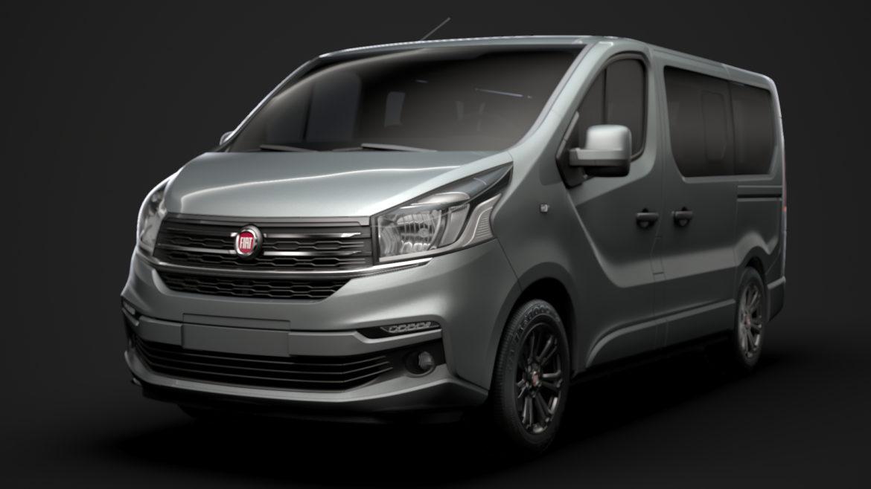 fiat talento minibus spaceclass 2019 3d model 3ds fbx c4d lwo ma mb hrc xsi obj 317806