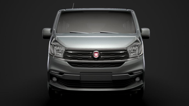 fiat talento minibus spaceclass 2019 3d model 3ds fbx c4d lwo ma mb hrc xsi obj 317807
