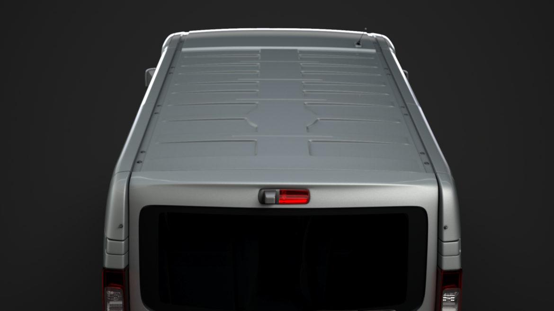 fiat talento minibus spaceclass 2019 3d model 3ds fbx c4d lwo ma mb hrc xsi obj 317811