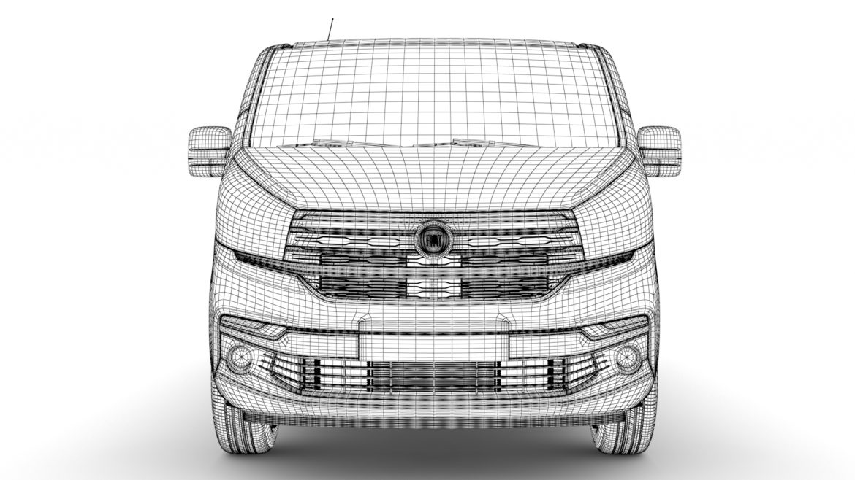 fiat talento minibus spaceclass 2019 3d model 3ds fbx c4d lwo ma mb hrc xsi obj 317817