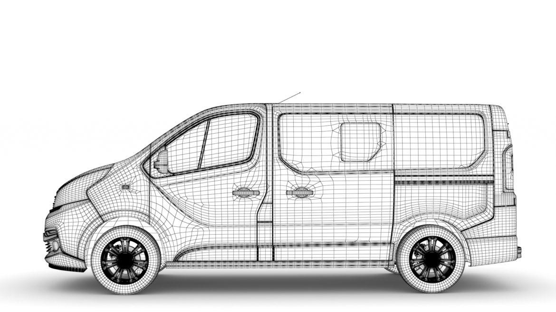 fiat talento minibus spaceclass 2019 3d model 3ds fbx c4d lwo ma mb hrc xsi obj 317818