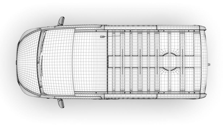 fiat talento minibus spaceclass 2019 3d model 3ds fbx c4d lwo ma mb hrc xsi obj 317819
