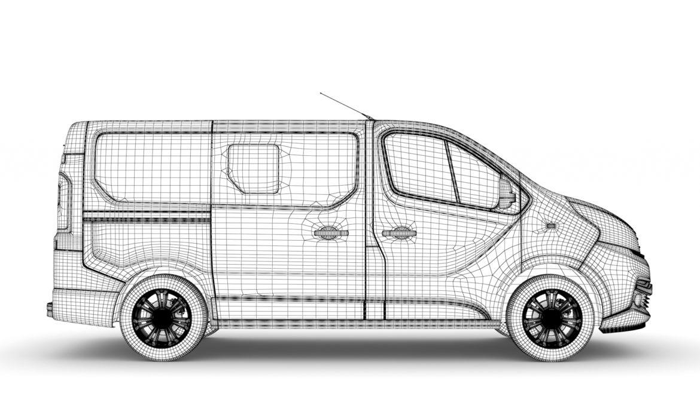 fiat talento minibus spaceclass 2019 3d model 3ds fbx c4d lwo ma mb hrc xsi obj 317821