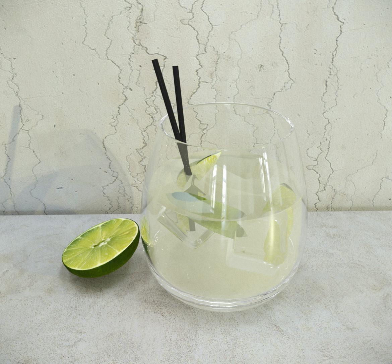 decorative set lemonade 3d model 3ds max fbx obj 318087