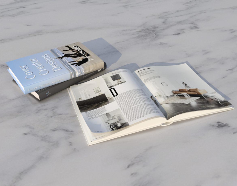 decorative set of books 3d model 3ds max dwg fbx obj 318094