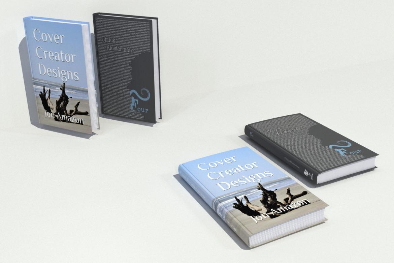 decorative set of books 3d model 3ds max dwg fbx obj 318096