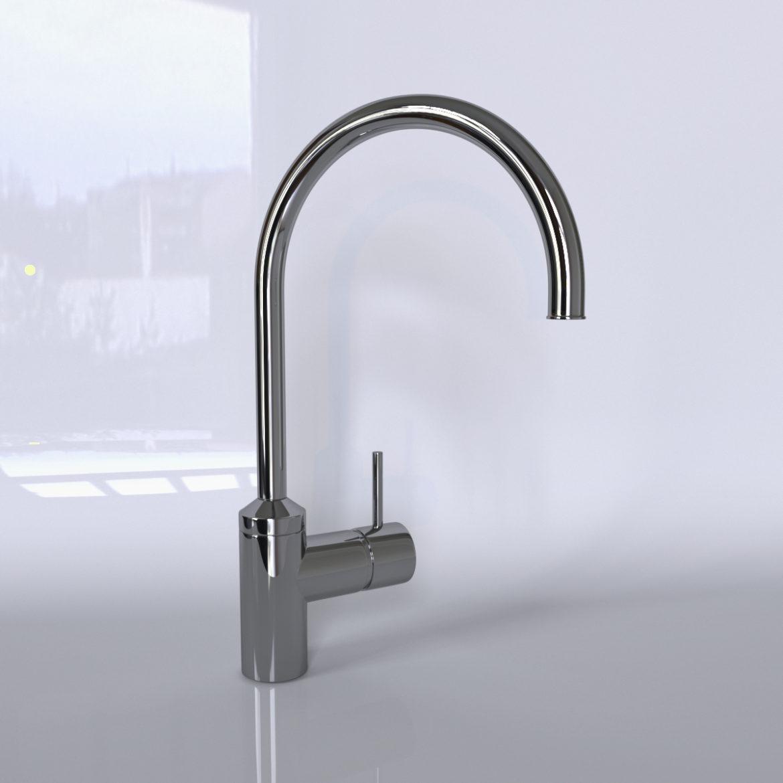 kitchen faucet kludi bozz 3d model max 318101
