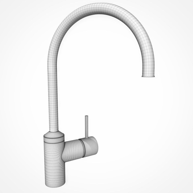 kitchen faucet kludi bozz 3d model max 318102