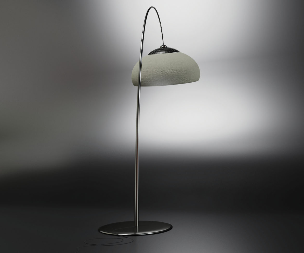 modern floor lamp 3d model max fbx obj 318109