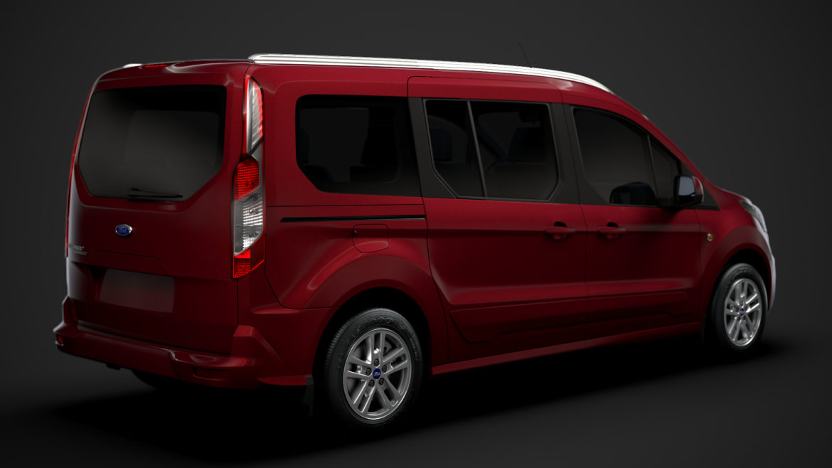 ford grand tourneo connect 2020 3d model 3dm 3ds c4d fbx lwo lw lws max obj ma mb hrc xsi ma mb 318454