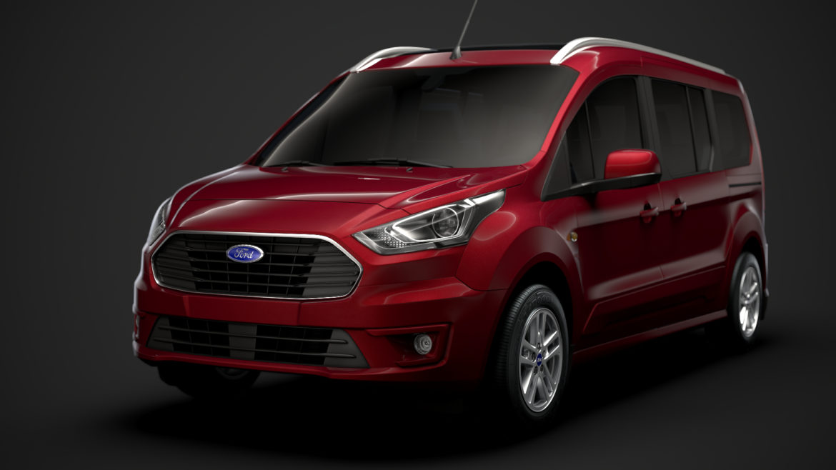 ford grand tourneo connect 2020 3d model 3dm 3ds c4d fbx lwo lw lws max obj ma mb hrc xsi ma mb 318462