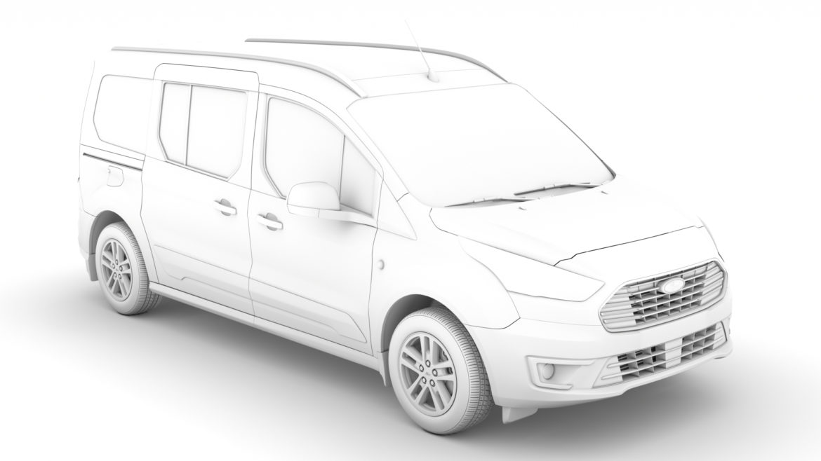 ford grand tourneo connect 2020 3d model 3dm 3ds c4d fbx lwo lw lws max obj ma mb hrc xsi ma mb 318468