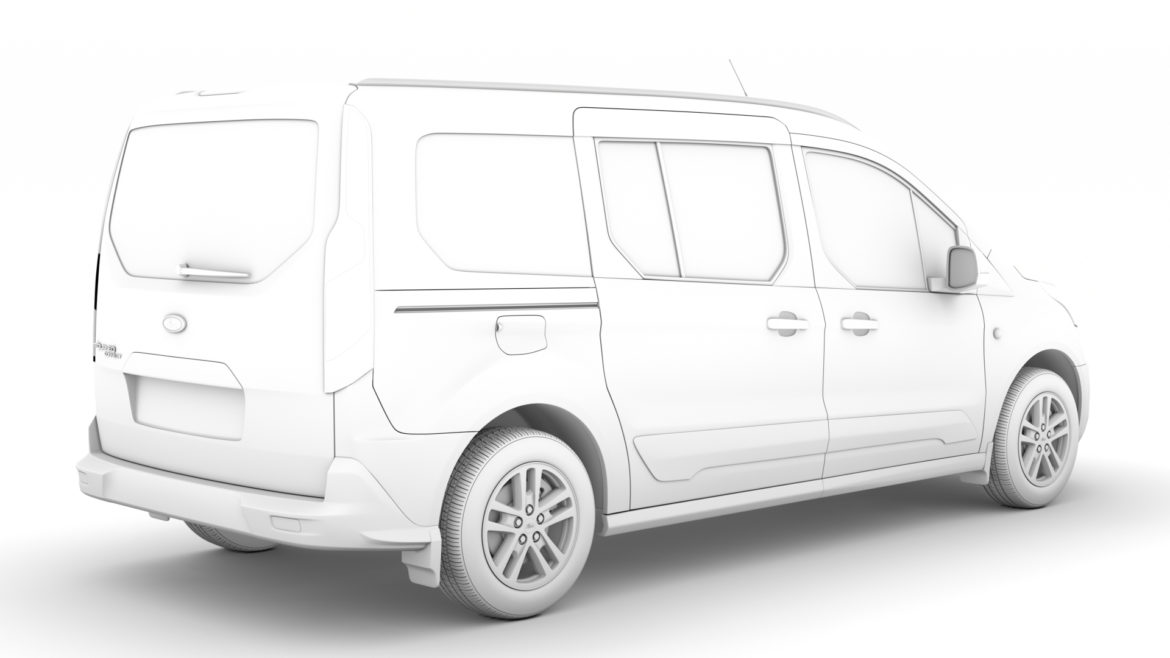 ford grand tourneo connect 2020 3d model 3dm 3ds c4d fbx lwo lw lws max obj ma mb hrc xsi ma mb 318470