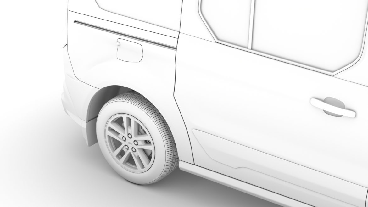 ford grand tourneo connect 2020 3d model 3dm 3ds c4d fbx lwo lw lws max obj ma mb hrc xsi ma mb 318479