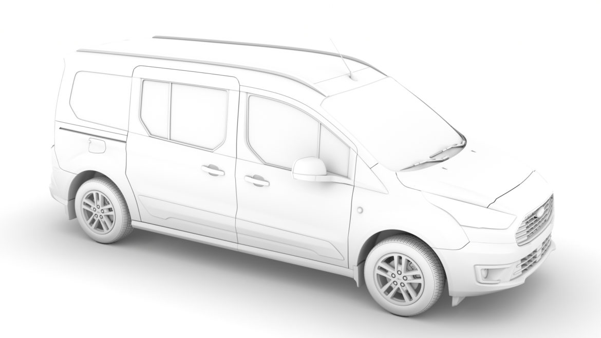 ford grand tourneo connect 2020 3d model 3dm 3ds c4d fbx lwo lw lws max obj ma mb hrc xsi ma mb 318480