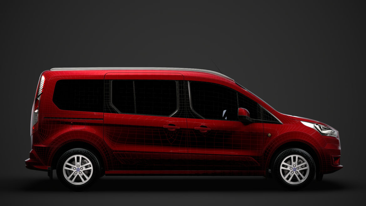 ford grand tourneo connect 2020 3d model 3dm 3ds c4d fbx lwo lw lws max obj ma mb hrc xsi ma mb 318485