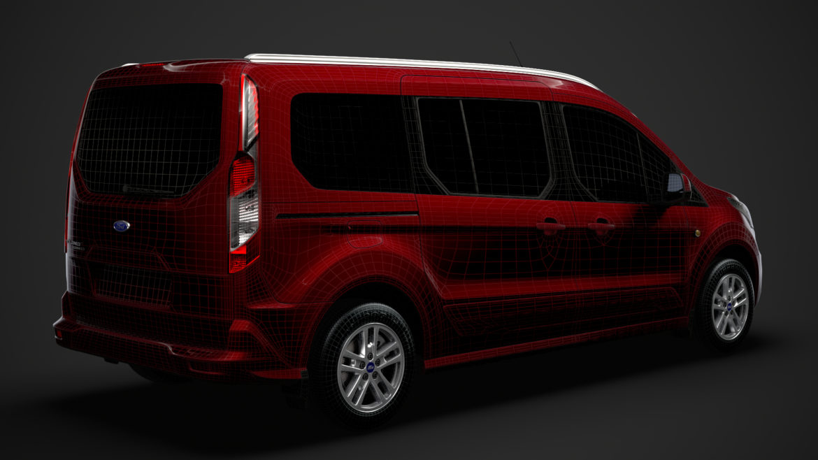 ford grand tourneo connect 2020 3d model 3dm 3ds c4d fbx lwo lw lws max obj ma mb hrc xsi ma mb 318486