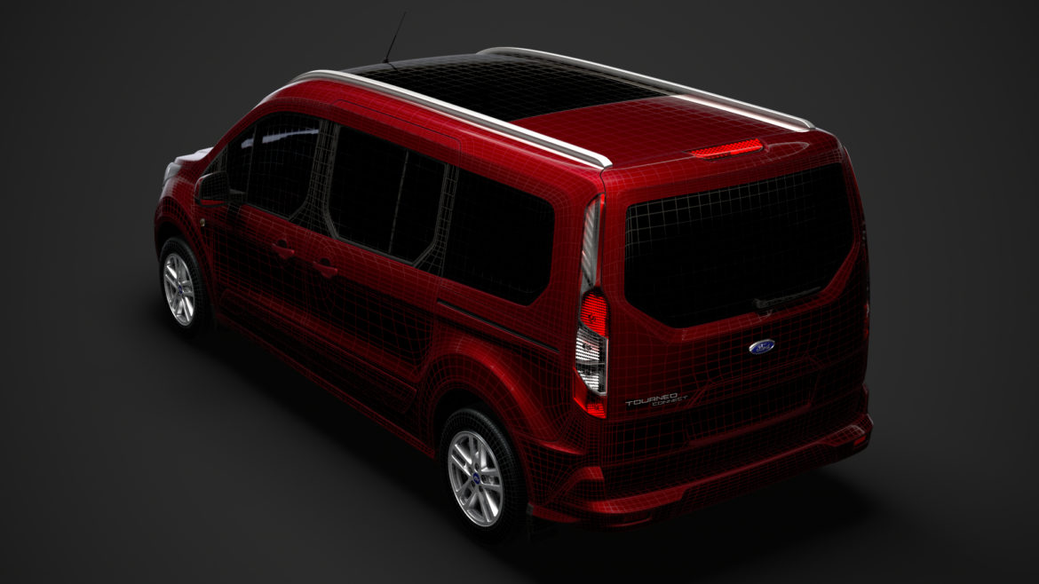 ford grand tourneo connect 2020 3d model 3dm 3ds c4d fbx lwo lw lws max obj ma mb hrc xsi ma mb 318487