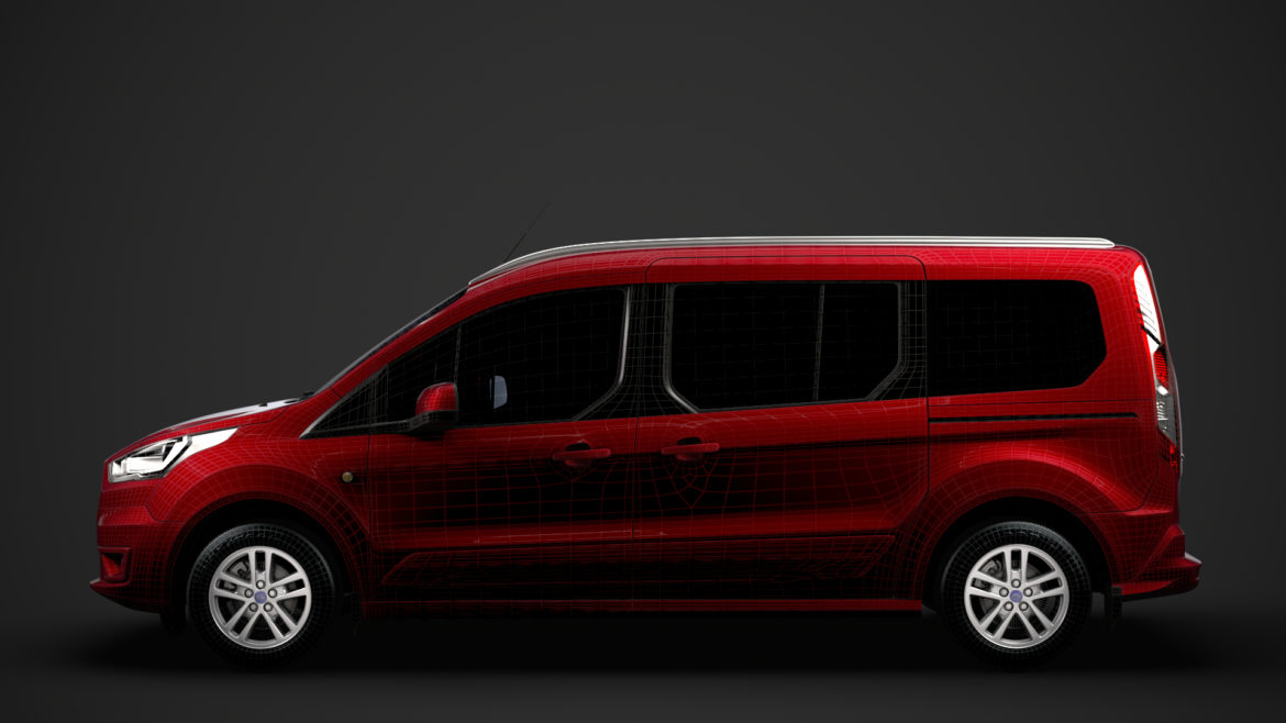 ford grand tourneo connect 2020 3d model 3dm 3ds c4d fbx lwo lw lws max obj ma mb hrc xsi ma mb 318489