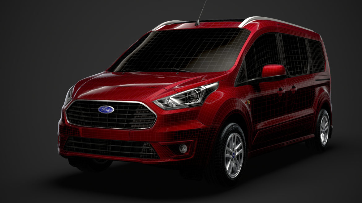 ford grand tourneo connect 2020 3d model 3dm 3ds c4d fbx lwo lw lws max obj ma mb hrc xsi ma mb 318492