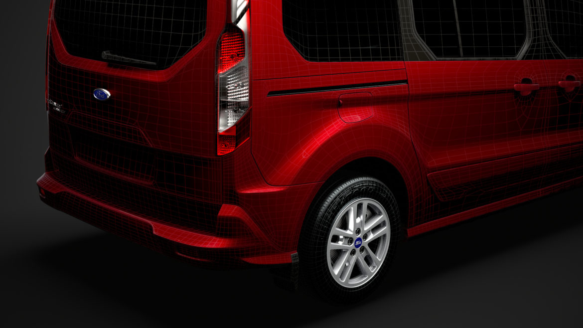 ford grand tourneo connect 2020 3d model 3dm 3ds c4d fbx lwo lw lws max obj ma mb hrc xsi ma mb 318494