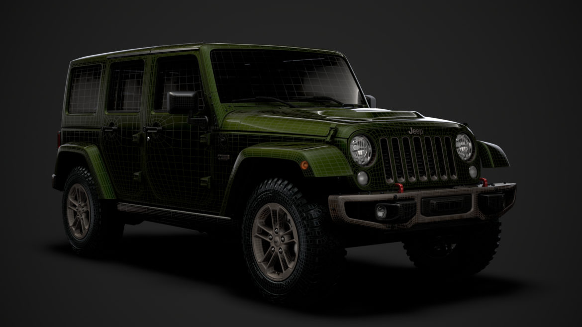 jeep wrangler unlimited 75th anniversary jk 2018 3d model 3ds c4d lwo ma mb 3dm hrc xsi obj 318559