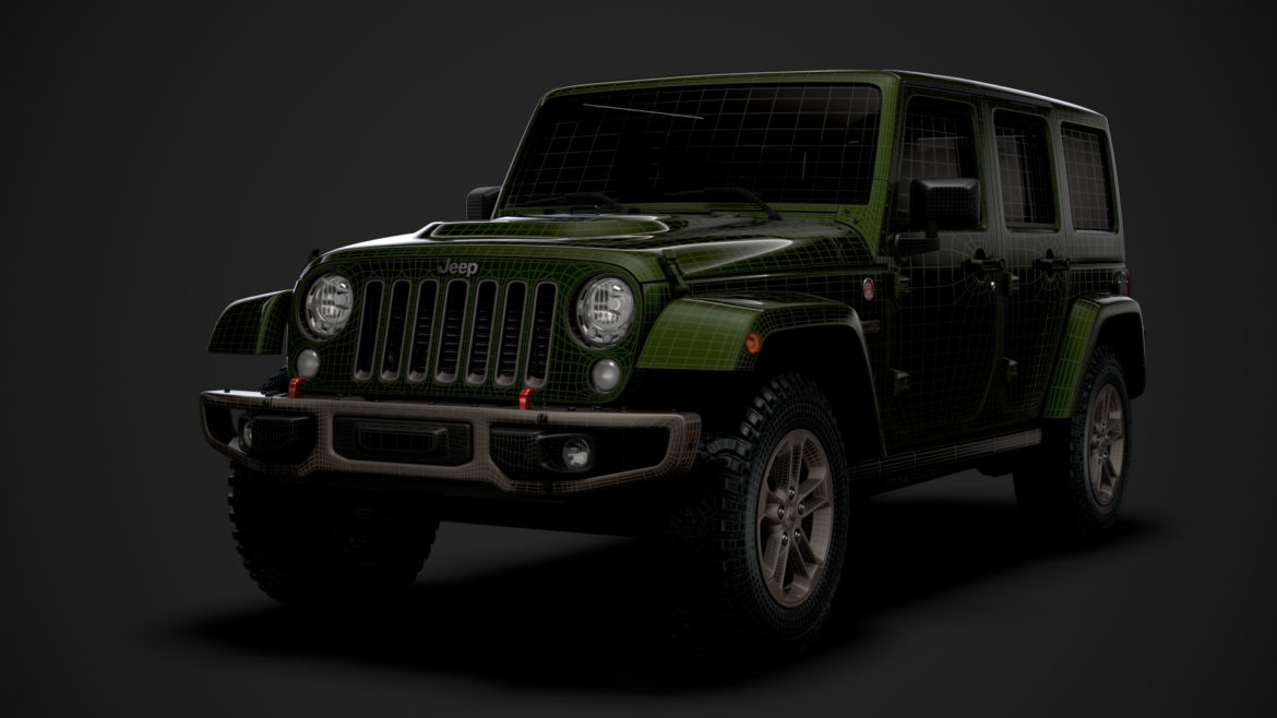 jeep wrangler unlimited 75th anniversary jk 2018 3d model 3ds c4d lwo ma mb 3dm hrc xsi obj 318567